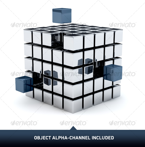 GraphicRiver Metal Cubes 01 101565