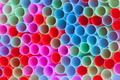 Closeup of group colorful straws - PhotoDune Item for Sale
