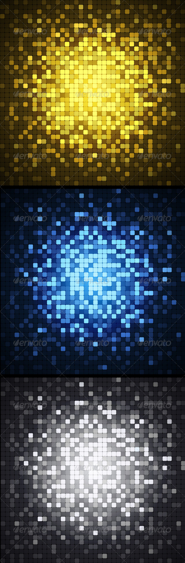 Pixel backgrounds - Backgrounds Decorative