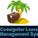 Codeigniter Leave Manager