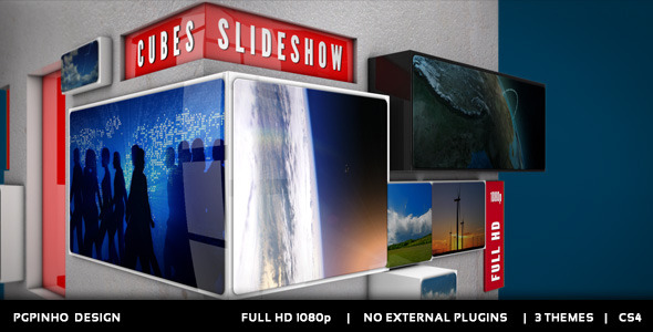 VideoHive Cubes Slideshow 2822224