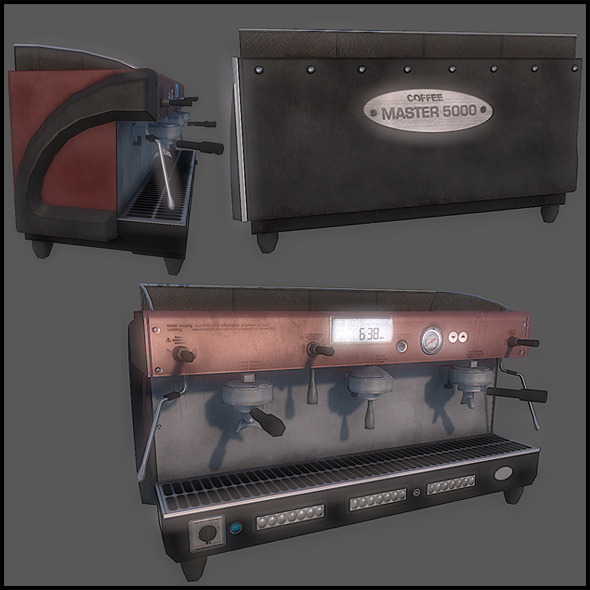 3DOcean Espresso Machine 2822638