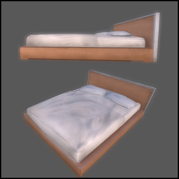 Classic Bed - 3DOcean Item for Sale