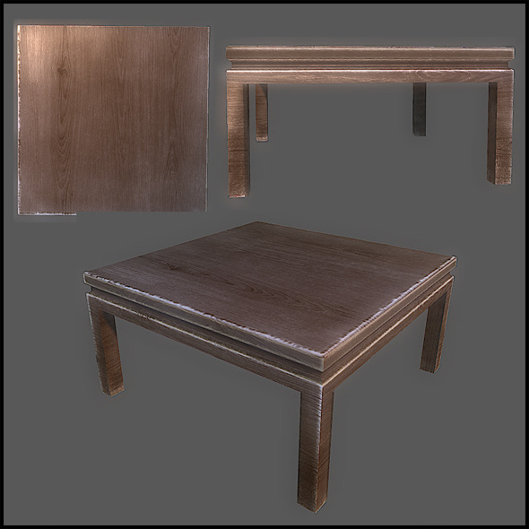 3DOcean Coffee Table 2822671