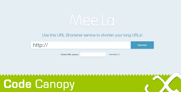 CodeCanyon URL Shortener Script with Stats page 1429705