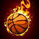 Download Vector Burning basketball