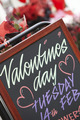 Valentine's Day Sign Outside Florist - PhotoDune Item for Sale