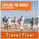 Travel Agency Marketing Flyer - GraphicRiver Item for Sale