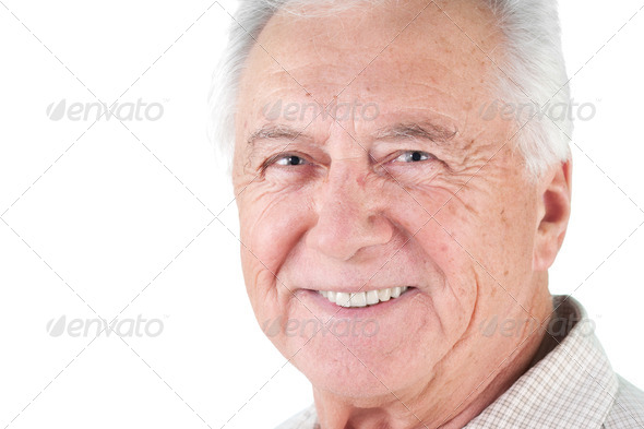 senior citizen man - Stock Photo - Images