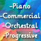 Piano Theme with Progressive Build Up - AudioJungle Item for Sale
