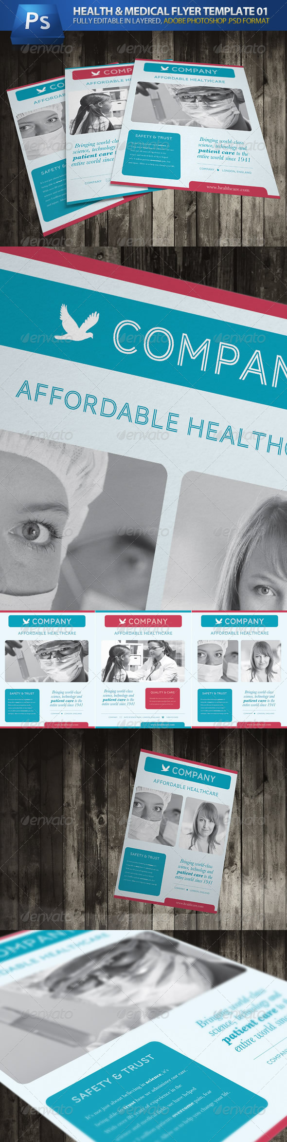Health & Medical Flyer 01 - Corporate Flyers