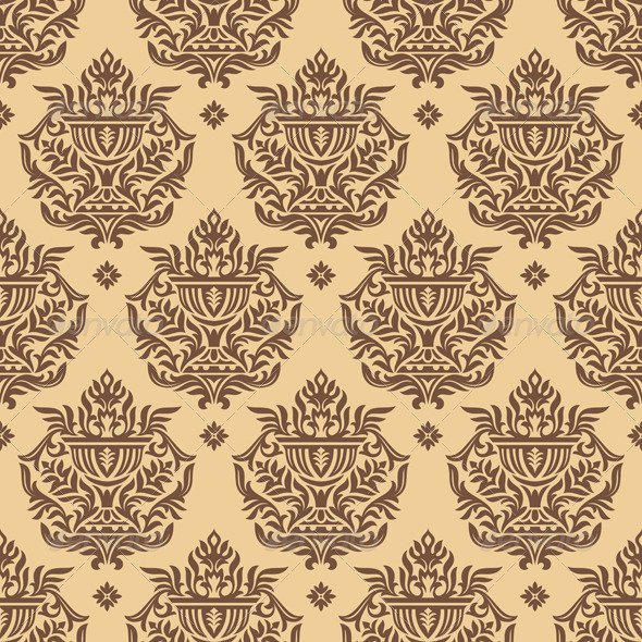 GraphicRiver Seamless Wallpaper Pattern 2823730