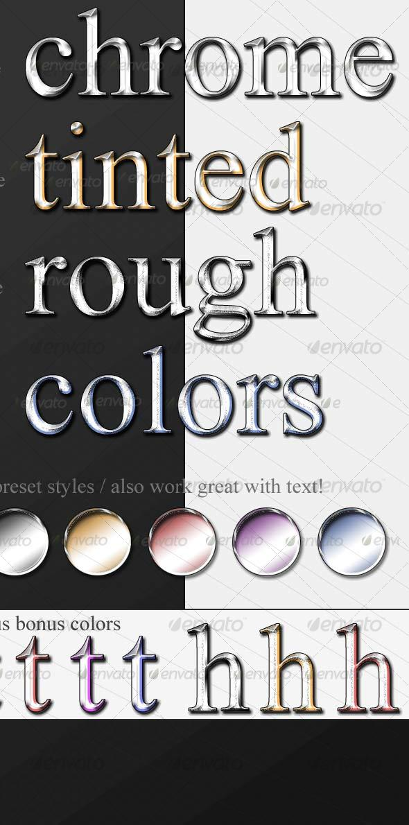 GraphicRiver Ultimate Chrome Text 99829