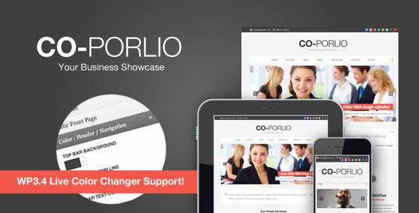 Co-Porlio Feature Rich WordPress Theme