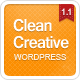 Clean Creative: Clean, Minimal WordPress Theme - ThemeForest Item for Sale