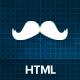 Mustache - Responsive One Page HTML Template - ThemeForest Item for Sale