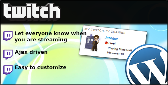 twitch.tv widget