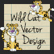 Wild Cat Vector Design - GraphicRiver Item for Sale