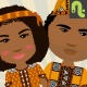 African Couple - GraphicRiver Item for Sale