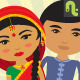 Indian Couple - GraphicRiver Item for Sale