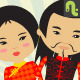Chinese Couple - GraphicRiver Item for Sale
