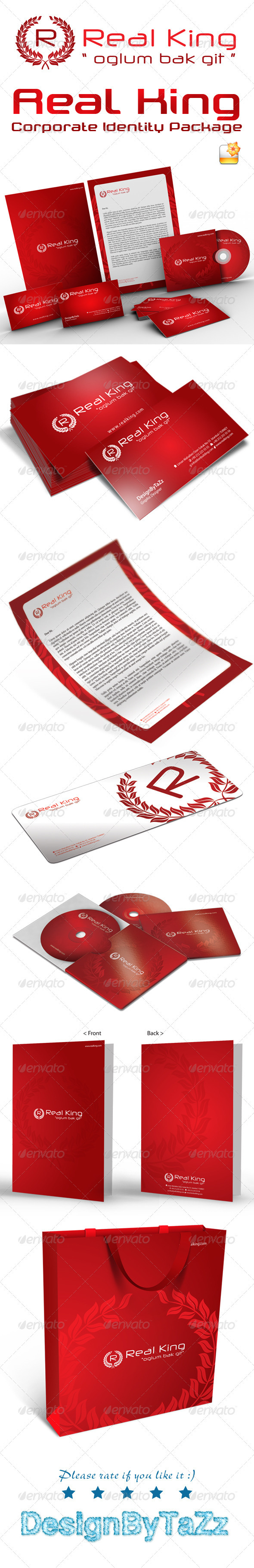 Real King Corporate Identity Package