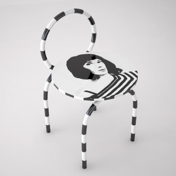 3DOcean Optical Ceramic Chair 2826891
