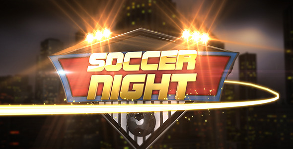 VideoHive Soccer Night Opener 2827051