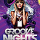 Groove Nights Flyer - GraphicRiver Item for Sale