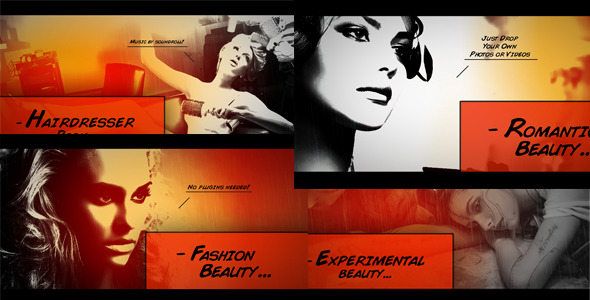 (Videohive )Comic Book Slideshow 2828570 HD After Effects