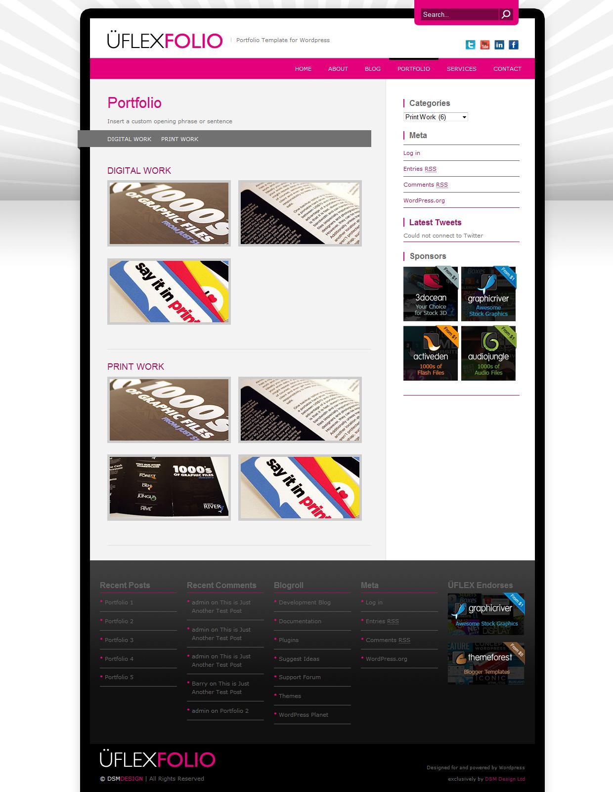 uFlexfolio - Portfolio Theme for Wordpress