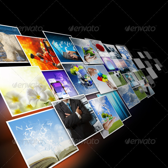 PhotoDune visual communication and streaming images concept 2828905