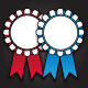24 Rosette Icons - GraphicRiver Item for Sale
