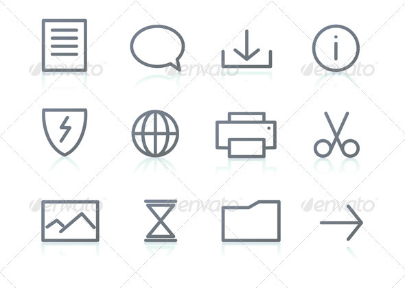 GraphicRiver Icon set 2829832