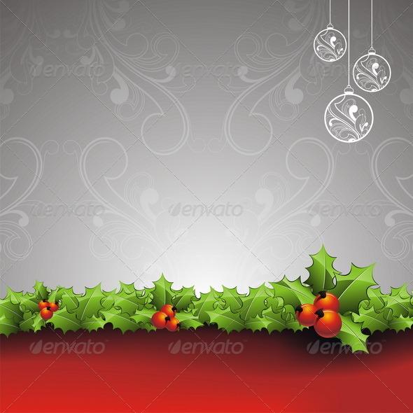 Vector Christmas illustration. - Christmas Seasons/Holidays