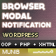 Quick Browser Detection Popup Notification<