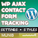 AJAX Contact Form with Tracking for WordPress - CodeCanyon Item for Sale