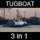 Tugboat Passing By (3in1) With Audio - VideoHive Item for Sale