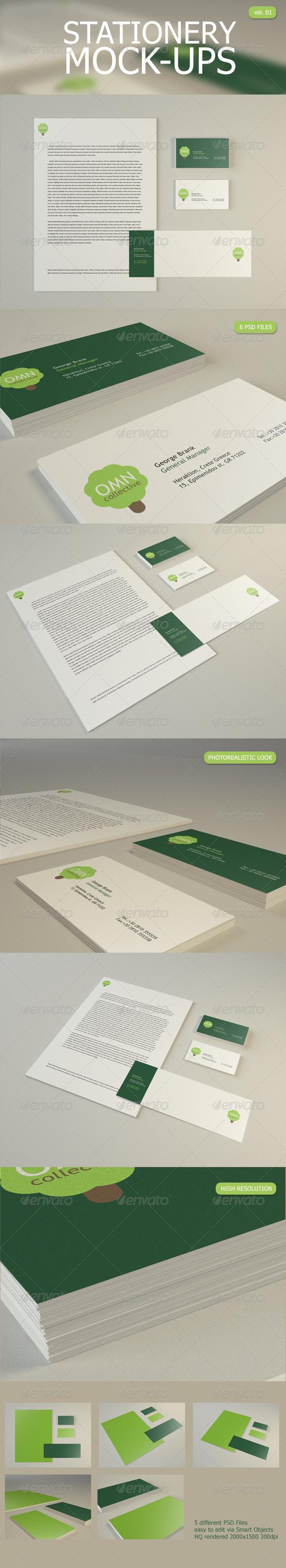 Stationery Mock Up - Stationery Print