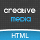 Creative Media One Page Html Creative Agency