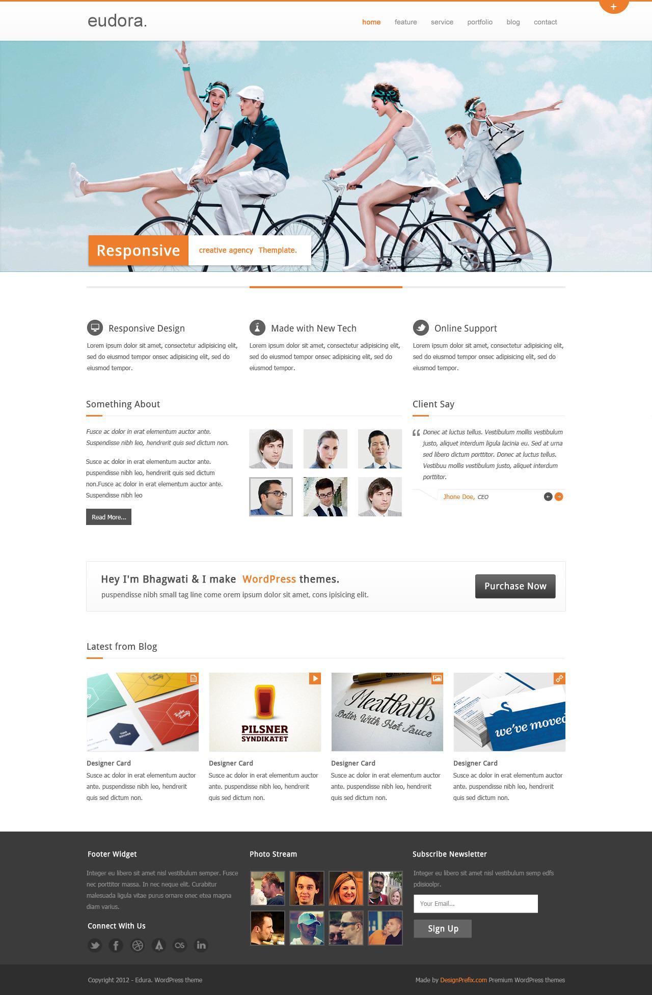 Eudora : Corporate / Business Theme