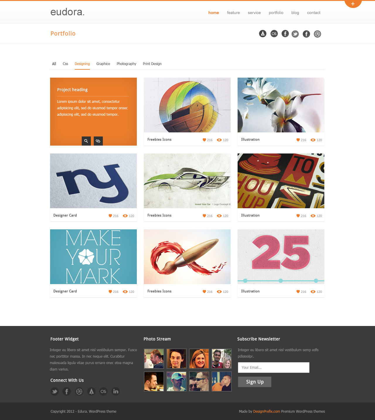Eudora : Corporate / Business Theme