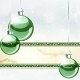 Christmas Banner With Transparent Ornaments - GraphicRiver Item for Sale