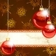 Download Vector Elegant Christmas Banner With Transparent Ornament