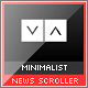 Minimalist XML News Scroller - ActiveDen Item for Sale