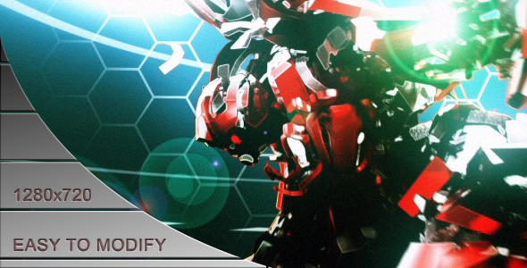 After Effects Project - VideoHive Robot Attack 2821075