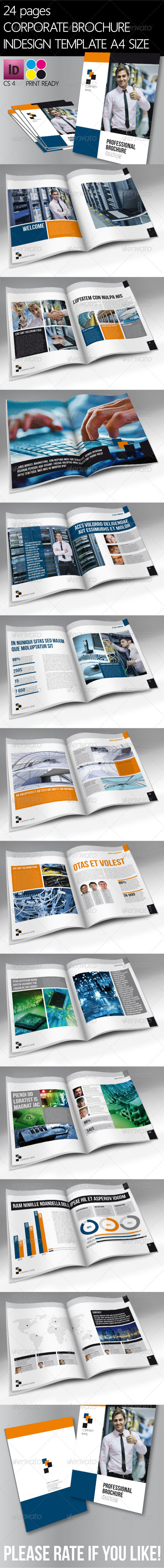 24 Pages Brochure - Brochures Print Templates