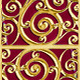 Golden Art Deco Background Pattern - GraphicRiver Item for Sale