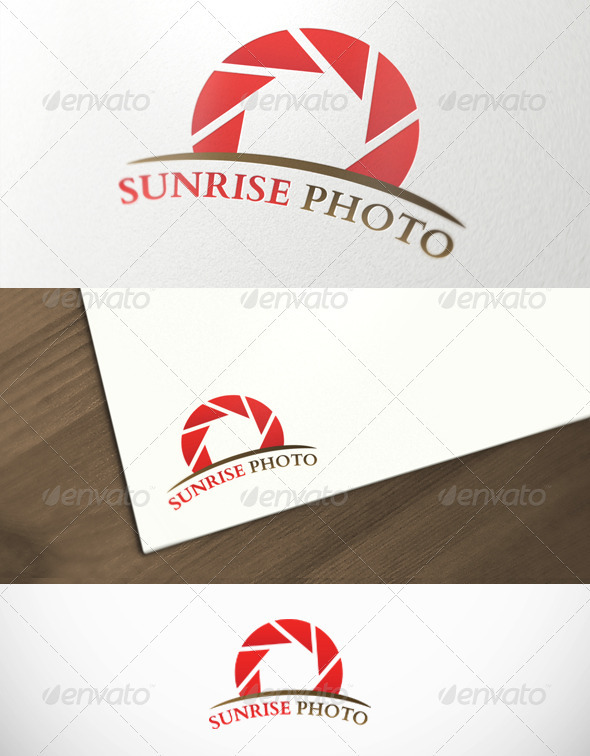 GraphicRiver Sunrise Photography Premium Logo Template 2826721
