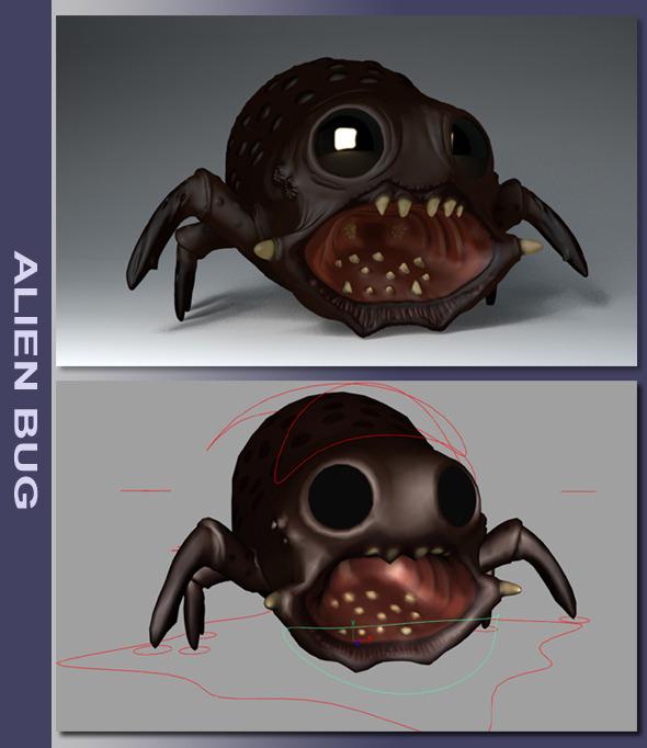 3DOcean Alien Bug 2834864